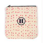 Pink Hearts Carry-all Zipper Bag (Pack of 1)
