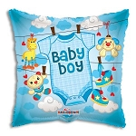 Baby Boy Clothes Balloon Foil