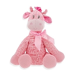 Jingles Giraffe Jungle Animals Stuffed Animal Plush Rattle Pink