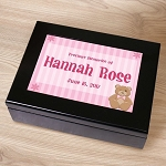 Personalized Keepsake Box Baby Girl