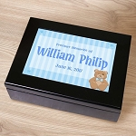 Personalized Keepsake Box Baby Boy