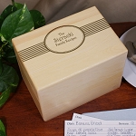 Personalized Family Recipe Box
