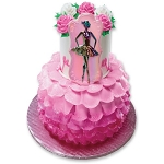 Ballerina Ballet Cake Topper Decoration Dancer Layon
