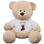 Personalized Christmas Teddy Bear Plush