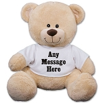 Personalized Teddy Bear Plush Add any message