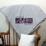 Personalized Wedding Fleece Blanket