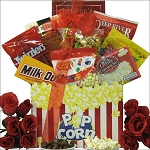 Valentines Day Gift Basket Movie Date Night