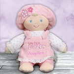Personalized First Dolly Baby Doll