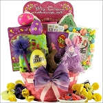 Easter Gift Basket for Girls Ages 6 to 9 Egg-streme Glamour