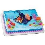 Nemo and Squirt Cake Topper Cake Decoration Set