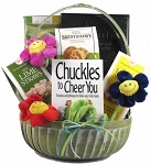 Cheerful Gift Basket Giggles and Goodies
