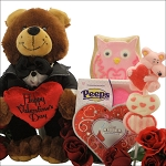 Valentines Day Kids Gift Basket