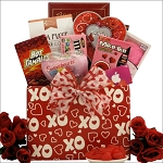Valentines Day Gift Basket ITunes Hugs & Kisses for Tweens & Teens