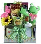 Jumping for Joy for The New Mommy Mothers Day Gift Basket