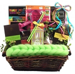 Tropical Spa & Gourmet Gift Basket
