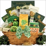 St Patricks Day Irish Gift Basket Large Gourmet Luck O' The Irish - OUT OF STOCK