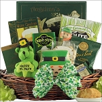 St Patricks Day Irish Gift Basket Small Gourmet Luck O' The Irish