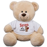 Personalized Teddy Bear Plush Beary Loveable