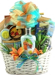 Tropical Spa & Gourmet Gift Basket Mothers Day