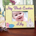Personalized Easter Photo Frame My First Easter