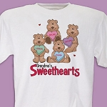 Personalized My Sweethearts Tshirt or Sweatshirt