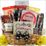 Pet Dog Gift Basket Pawsitively Delicious