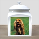 Personalized Photo Pet Urn Memorial Ceramic