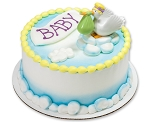 Baby Shower Cake Topper Decoration Special Delivery Stork
