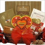 Valentines Day Gift Basket Totally Nuts Over You
