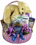 Tender Thoughts Gift Basket For Her