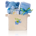 Baby Boy Gift Tote Welcome Home