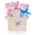Baby Girl Gift Tote Welcome Home