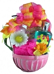 Spa Gift Basket Wild Apple Daffodil