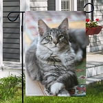 Personalized Pet Photo Garden Flag