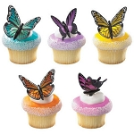 Butterfly Cupcake or Cake Decoration Pics