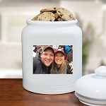 Personalized Photo Cookie Jar Ceramic