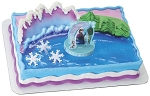 Frozen Cake Topper Decoration Anna and Elsa