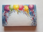 Enclosure gift card Balloons and confetti