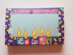 Enclosure gift card Birthday Candles & Confetti