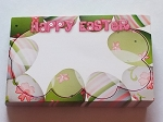 Enclosure gift card Happy Easter Eggs