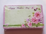 Enclosure Cards Mothers Day Flowers & Butterflies