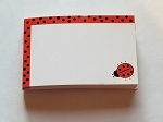 Enclosure gift card Ladybug Thinking of You