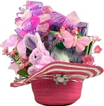Easter Gift Basket Butterflies & Bunnies