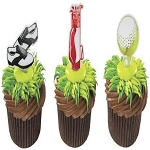 Golf Cupcake and Cake Decorations