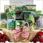 Valentines Day Golf Gift Basket Golfers Delight