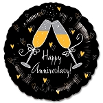 Happy Anniversary Balloon Foil Mylar