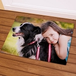 Personalized Pet Photo Doormat Welcome Mat