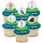 Secret Life of Pets Cupcake Rings Cake Decorations