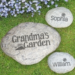 Personalized Decorative Garden Stone