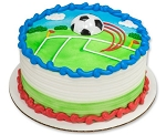 Soccer Magnet Cake Topper Decoration